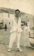 AK Alassio 1924 Junger Mann Am Strand - Giovane Al Spiaggia / Imperia Cervo Marina Di Andora Albenga Ceriale Loano - Other Cities