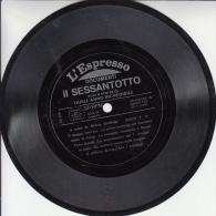 """DISCO IN PLASTICA DA """"L'ESPRESSO"""" DOCUMENTI REGISTRATI IL SESSANTOTTO-VOCI E STORIE DI QUELL'ANNO INCREDIBILE-DUE FACCIA - Musica & Strumenti"""