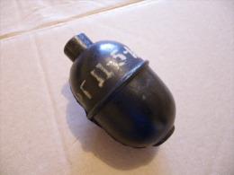 Grenade D'instruction Russie??? En Caoutchouc + Métal (rare) - Equipement