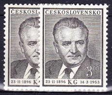 ** Tchécoslovaquie 1953 Mi 793-4 (Yv 699-700), (MNH) - Nuovi