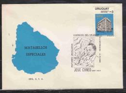 URUGUAY LOCAL PAINTORS JOSE CUNEO SPECIAL PMK. AAD0946 - Uruguay