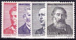** Tchécoslovaquie 1958 Mi 1093-6 (Yv 976-9), (MNH) - Nuovi