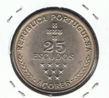 AZORES - 25 Escudos 1980  KM43 - Açores