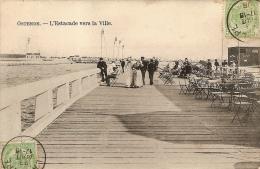 OOSTENDE-OSTENDE-L'ESTACADE VERS LA VILLE - Oostende