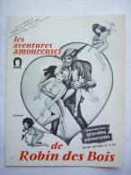 DOSSIER DE PRESSE LES AVENTURES AMOUREUSES DE ROBIN DES BOIS - 1968 - Pubblicitari