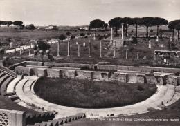 Italia-Ostia-Il Piazzale Delle Corporazioni Visto Dal Teatro - Italie