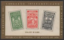 Panama (1956) Yv. Bf. 2  / Congreso De Municipios - Planten