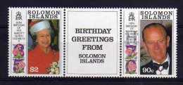 Solomon Islands - 1991 - Royal Birthdays - MNH - Salomon (Iles 1978-...)