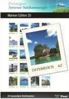 AUSTRIA ÖSTERREICH 2013 MARKEN EDITION 20 Ferienregion Attersee-Salzkammergut  MNH / ** / POSTFRISCH - Blocchi & Fogli