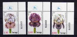 Israel - 1978 - Wild Irises - MNH - Neufs (avec Tabs)