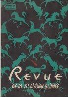 Revue De La 5em Division Blindée N°60 Octobre 1950 Rhin Et Danube - Revues & Journaux