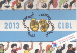 COLUMNAS DE OPINION - AGENCIA DE NOTICIAS TELAM - 1813-2013 - NUEVO PORTAL DE NOTICIAS - Postkaarten