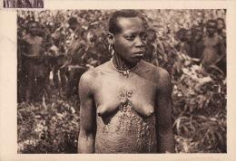 CAMEROUN, Tatouages En Relief,  Scarifications Tribale, 1948 - Cameroun