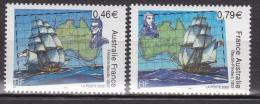 France - 2002 - Rencontre Des NavigateursBaudin & Flinders -  N° 3476/3477   - Neuf ** - MNH - Joint Issues