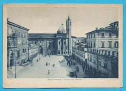 C.P.A. Ascoli Piceno - Piazza Del Popolo - Ascoli Piceno