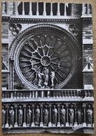 France - Paris - Facade De Notre-Dame - La Rose Et La Galerie Des Rois - Editor: Chantal - Photo: Veritable - Notre-Dame De Paris