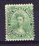 Colony Of Canada - 1859 - 12½ Cent Definitive - Used - Oblitérés