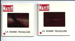 R826 - DIAPOSITIVE PARIS MATCH - LA BOMBE (ATOMIQUE) FRANCAISE - Other