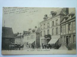 CANY   (Seine-maritime)  :  Place Du  COMMERCE   1903 - Valmont
