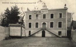 68459 - Brioude (43) Ecole Primaire Superieure De Jeunes Filles - Brioude