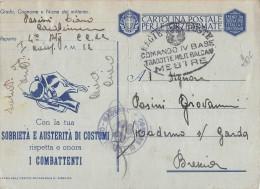 AG333  FRANCHIGIA POSTA MILITARE 12 MESTRE  X BRESCIA - 1900-44 Vittorio Emanuele III