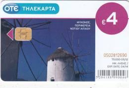 GREECE - Mykonos Island, Tirage 70000, 05/12, Used - Landschappen