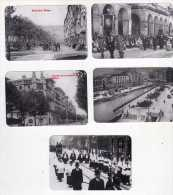 686- 5 Calendarios,2001  ( Reproducciones) , Bilbao, - Calendarios