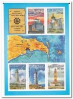 Azerbeidzjan 2013 Postfris MNH Lighthouses - Azerbeidzjan