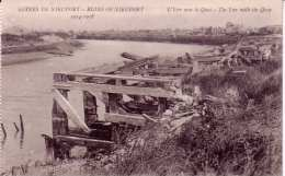Nieuwpoort-ruines Du Quai De L'Yser-14-18 - Guerre 1914-18