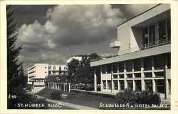 Tchequie -ref 88- St Kupele Sliac -st Kaviaren  Hotel Palace  - Carte Bon Etat   - - Tchéquie