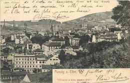 Tchequie -ref 58- Aussig A Elbe  - Carte Bon Etat  - - Tchéquie