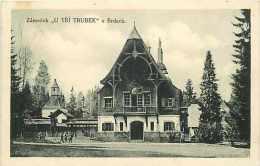 Tchequie -ref 56- Zamecek - Carte Bon Etat  - - Tchéquie