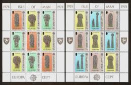 ISLE Of MAN 1978 - Monuments / CEPT Europa - 2x Klb Mi 122-27 MNH ** Cv€5,00 N214 - Man (Insel)
