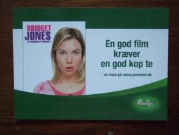 Bridget Jones Movie Film Carte Postale - Advertising