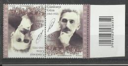 44.Hungary 2013,Hungarian Celebrating The 150th Anniversary Of The Birth Of Géza Gárdonyi MNH - Unused Stamps