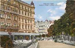 Tchequie -ref 28- Karlovy Vary  - Carte Bon Etat  - - Tchéquie