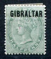 1651 - GIBRALTAR Mit Falz - Mi.Nr. 1 - Mint But Hinged No.1 - Gibraltar