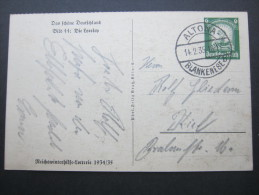 1934/1935, WHW  Bildkarte ,gebraucht, Used - Deutschland
