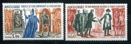 1660 - FRANZ. ANDORRA Postfrisch - Mi.Nr. 183-184 - Mnh Set - French Andorra
