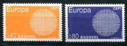 1662 - FRANZ. ANDORRA Postfrisch - Mi.Nr. 222-223, Europa-CEPT - Mnh Set - French Andorra