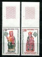 1664 - FRANZ. ANDORRA Postfrisch - Mi.Nr. 258-259, Europa-CEPT - Mnh Set - Unused Stamps