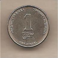 Israele - Moneta Circolata Da 1 Nuovo Sheqel - Israele