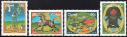 Ciskei - 1987 Homemade Toys Set (**) # SG 115-118 , Mi 119-122 - Ciskei