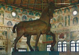 Padova-Hall Of The Law Courts - The Horse Of Donatello.   # 01679 - Articles Of Virtu