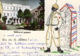 CP DRAGUIGNAN 83, Une Vie De Château (militaire, Humour) - Draguignan