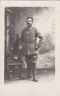 Soldat In Wich, Lothringen, Foto-AK Um 1916 - Krieg, Militär