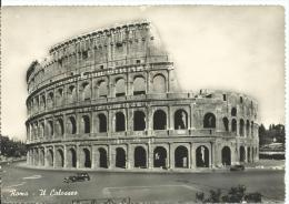 Old Black & White Colosseum Postcard Used Some Tape On Back 13. Ediz S.A.F.- Rip Vietata Vera Fotografia L 30 - Colosseum