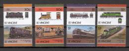 St Vincent 1986 Trains MNH (T1766) - Eisenbahnen