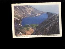 Calendrier Format Cpa : Lac Blanc Massif Des Rousses ' La Truite Est Reine En Dauphiné ' Droits De Pêche Pêcher En Isère - Calendriers