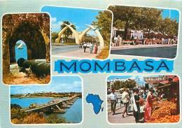 CPM - MOMBASA -  Multivues (Ed. East Africa, 1234) - Kenya